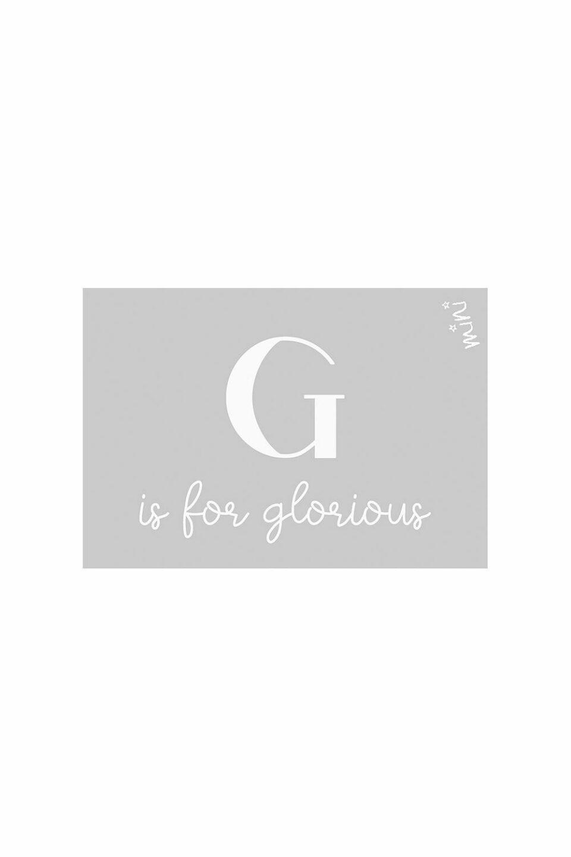 GLORIOUS GREY