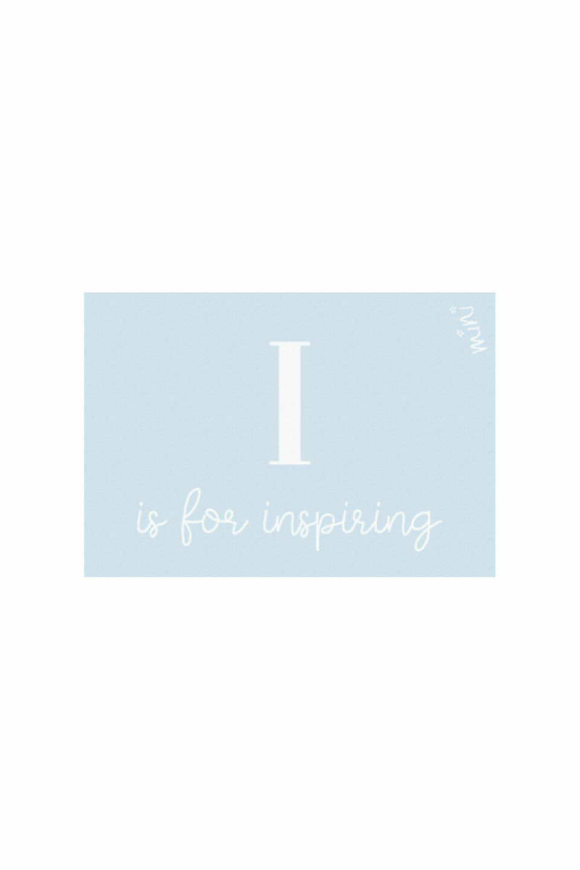 INSPIRING BLUE