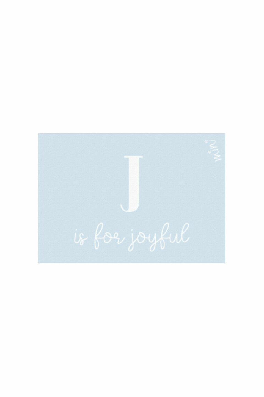 JOYFUL BLUE