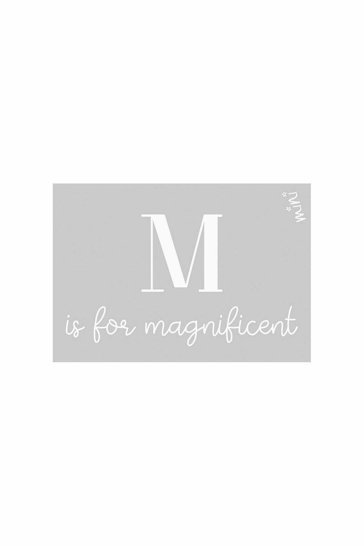 MAGNIFICENT GREY