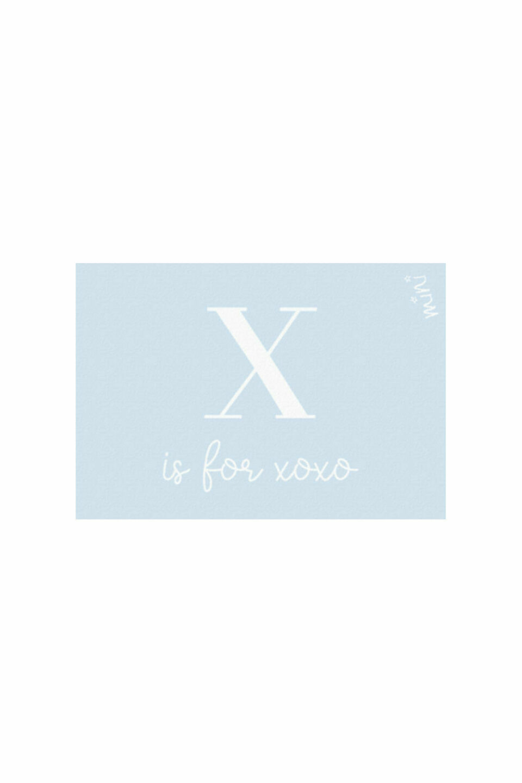 XOXO BLUE